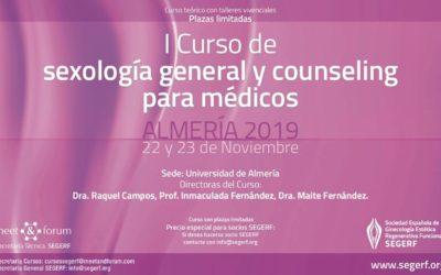 I CURSO DE SEXOLOGÍA GENERAL Y COUNSELING PARA MÉDICOS